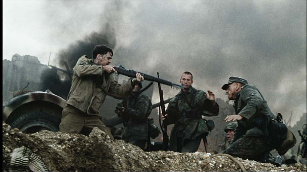 saving private ryan essay Steven spielberg is often accused of being too sentimental, but that notion is pretty much obliterated by saving private ryan's opening scene, a half-hour crucible in which we witness allied soldiers storm omaha beach on d-day spielberg cedes little of the screen to acts of heroism or bravery, instead.