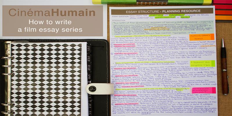 How to write a film essay