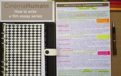 How to Structure a Film Essay